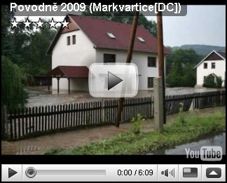 Povodeň Markvartice - video 2